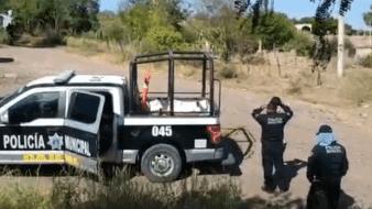 Se registra doble homicidio en Estación Corral de Obregón