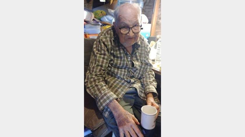 José Ángel, de 87 años, vive en la colonia Libertad.(Maria E. Hernandez)
