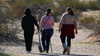 Organizan brigada de búsqueda de desaparecidos en Mexicali