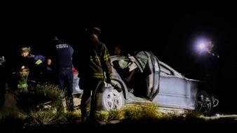 Al menos cuatro personas murieron en accidente automovilístico en Estación Pesqueira