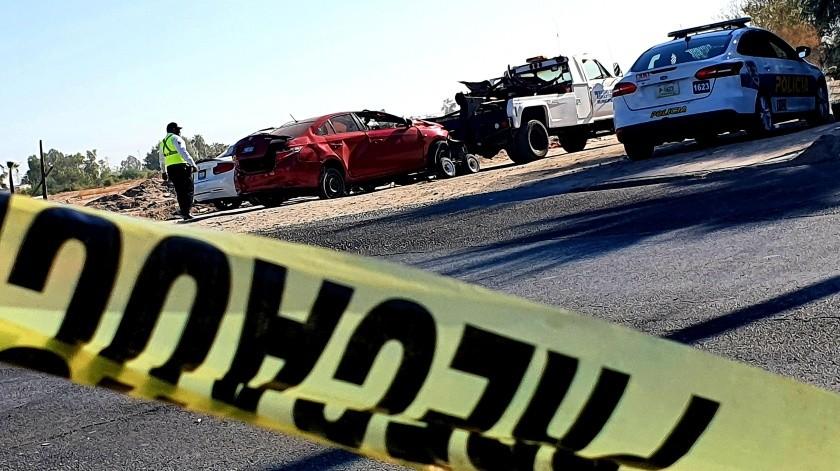 Muere automovilista en choque sobre bulevar Carranza(Cortesía)