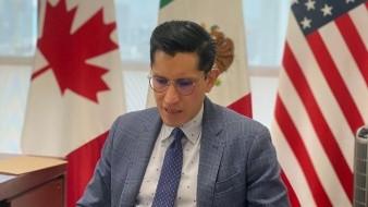 Velasco aseguró que la red consular mexicana, la Embajada en Washington y la Cancillería