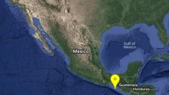 Un sismo de una magnitud de 5.4 grados en escala de Richter se registró en Chiapas