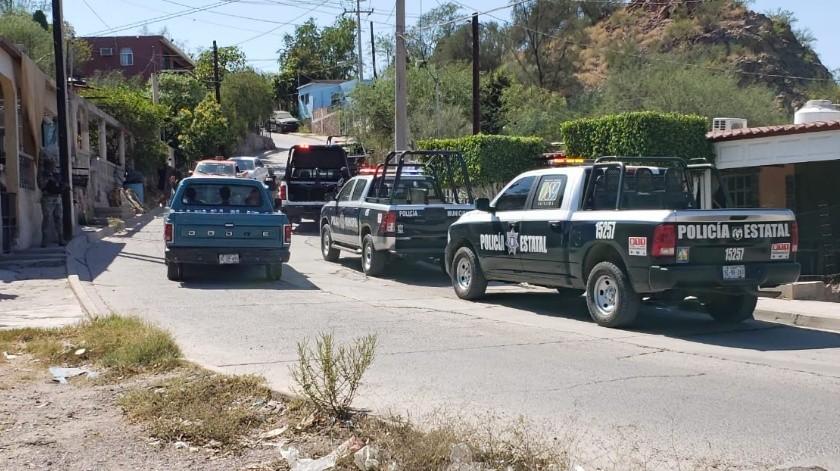 Dos hombres fueron baleados hoy en Guaymas, uno de ellos murió y el otro quedó herido(Redacción GH)