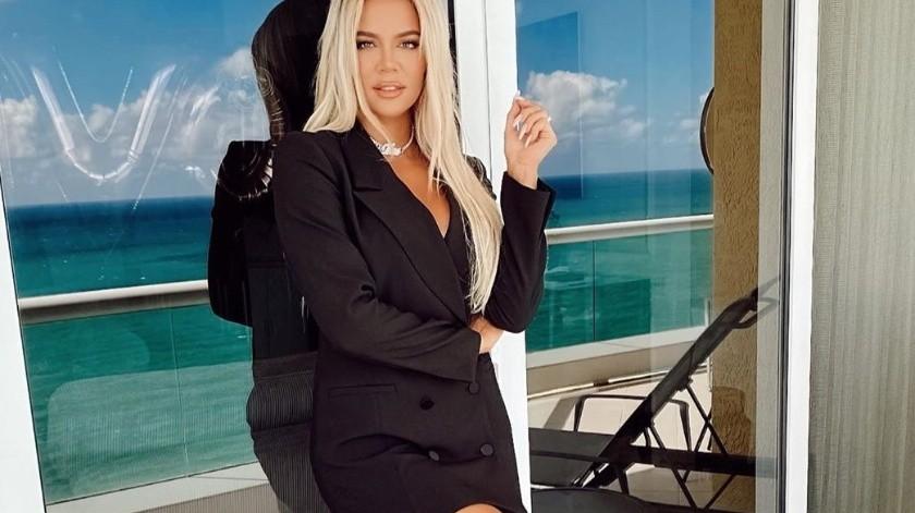 """""""Es difícil porque no soy buena con el cambio, pero eso no significa que no necesite un descanso"""": Khloé Kardashian.(Instagram/khloekardashian)"""