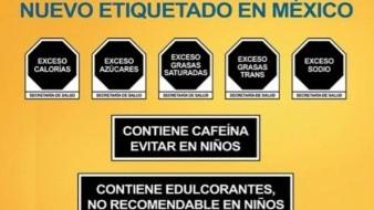 Cámara de Comercio Hispana de EU rechaza etiquetado de alimentos mexicano; OMS lo reconoce