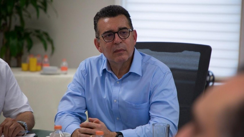 Enrique Clausen Iberri, secretario de Salud.(EL IMPARCIAL)