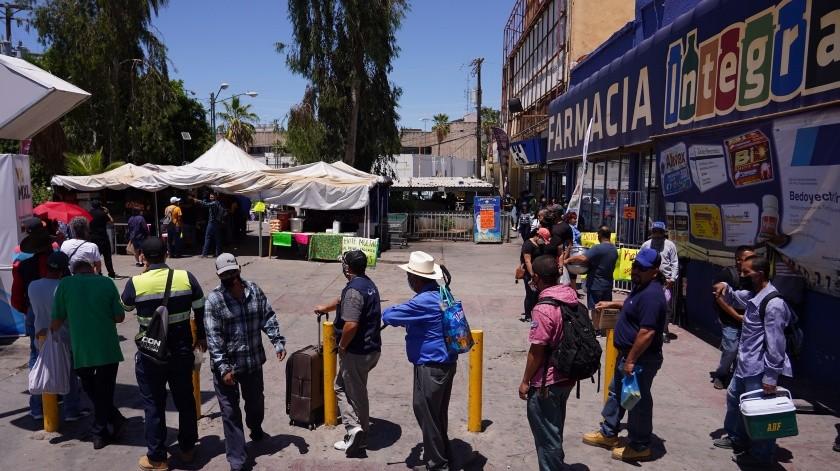 Buscan construir cruce inclusivo en garita centro(Victor Medina Gorosave)