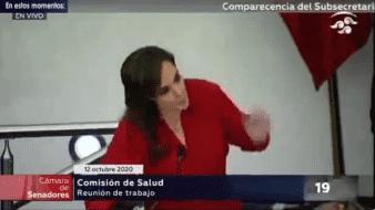 A través de su cuenta de Twitter, Villamil contestó a la legisladora que ella