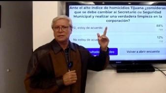 'Piden a gritos' salida de Secretario de Seguridad de Tijuana: Gobernador