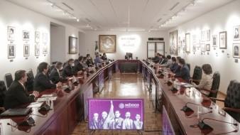 El Presidente Andrés Manuel López Obrador se reunió con miembros del Infonavit