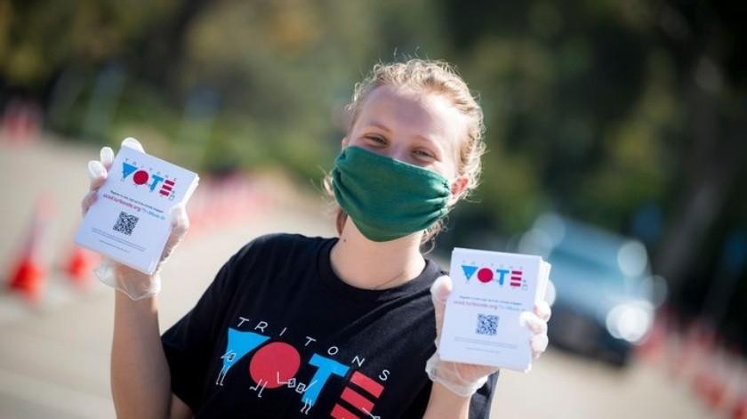 Casi 200 mil ya votaron en San Diego(Cortesía)