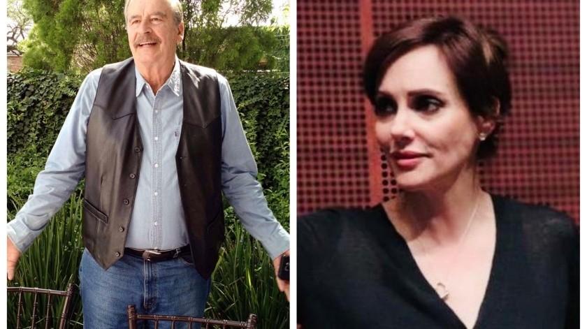 """""""Bravo Lilly, esas son faldas"""": Vicente Fox felicita a Lilly Téllez por críticas al doctor Hugo López-Gatell"""