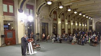 En conferencia de prensa el presidente de México indicó que gobiernos anteriores usaron la palabra cambio para engañar a la población.