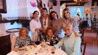 Presume Michelle Salas imágenes de su reencuentro con Silvia Pinal