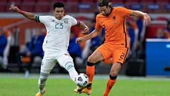 Gallardo fue uno de los mejores jugadores de México ante Holanda