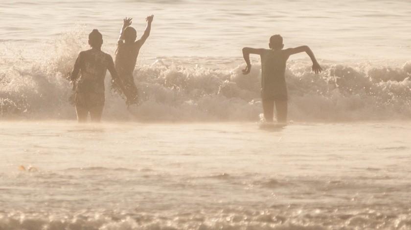 El 3 de octubre fueron reabiertas las playas de Tijuana.(Banco de Imágenes)