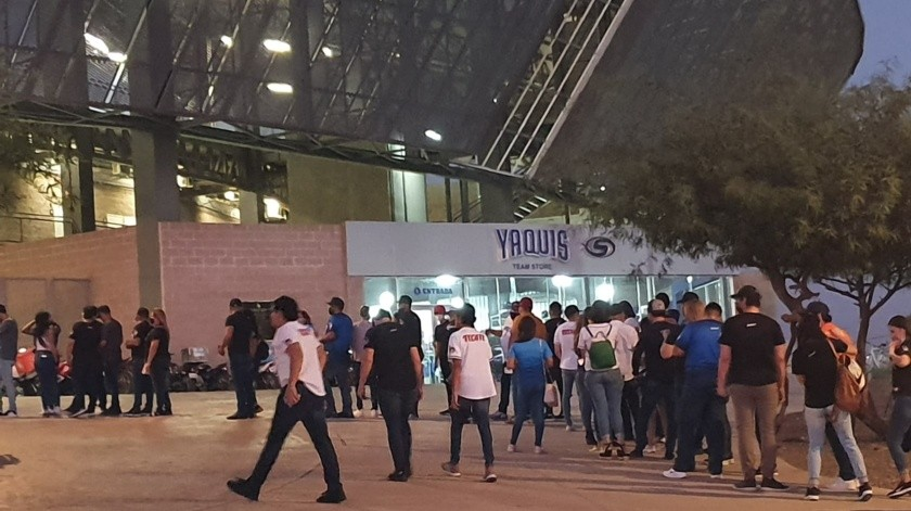 Yaquis: Estiman 5 mil asistentes al regreso de la LMP en Obregón