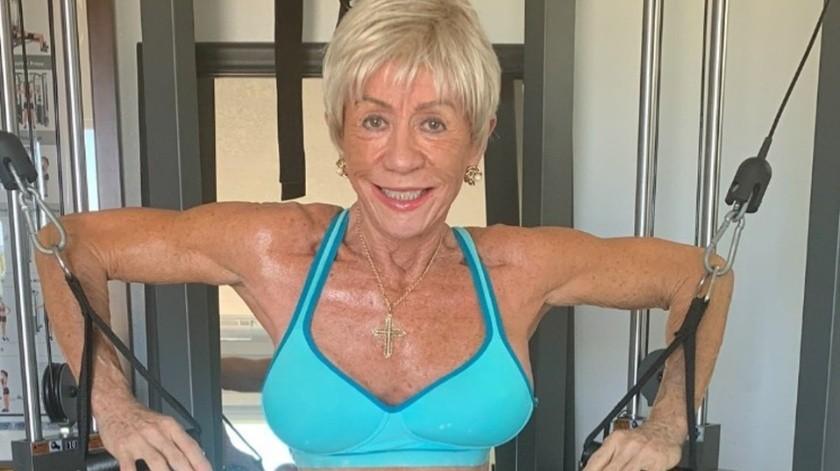 Iris Davis, la fisicoculturista de 76 años que se volvió viral(Instagram)