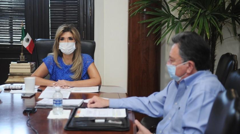 Claudia Pavlovich, gobernadora de Sonora, instruyó a las autoridades de la Sagarhpa, destinar recursos a un fideicomiso para los ganaderos(REDACCIÓN GH)