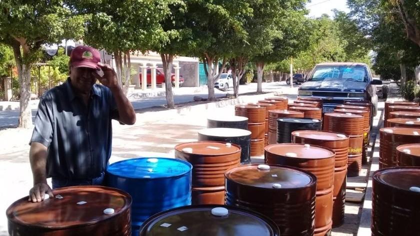 Los apicultores tuvieron un mal año debido a la sequía.(Cortesía)