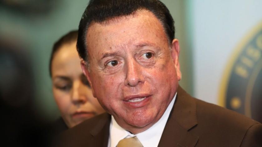 Guillermo Ruiz Hernández, fiscal general del Estado.