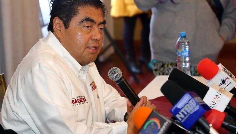 Gobierno de Miguel Barbosa suspende a 12 policías que demandaban mejores condiciones laborales(Archivo GH)