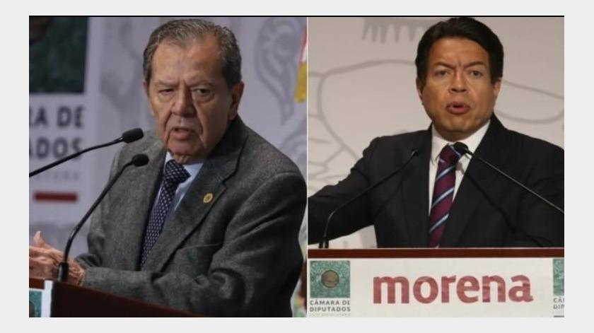 INE ordena a Mario Delgado y Muñoz Ledo cesar proselitismo rumbo a tercera encuesta(Archivo GH)