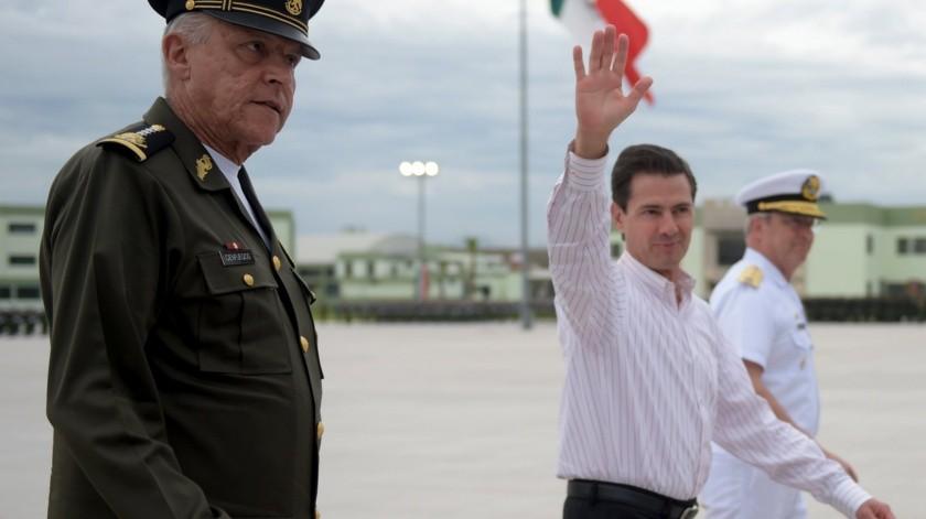 El último general investigado es el general Salvador Cienfuegos Zepeda(Facebook Enrique Peña Nieto)