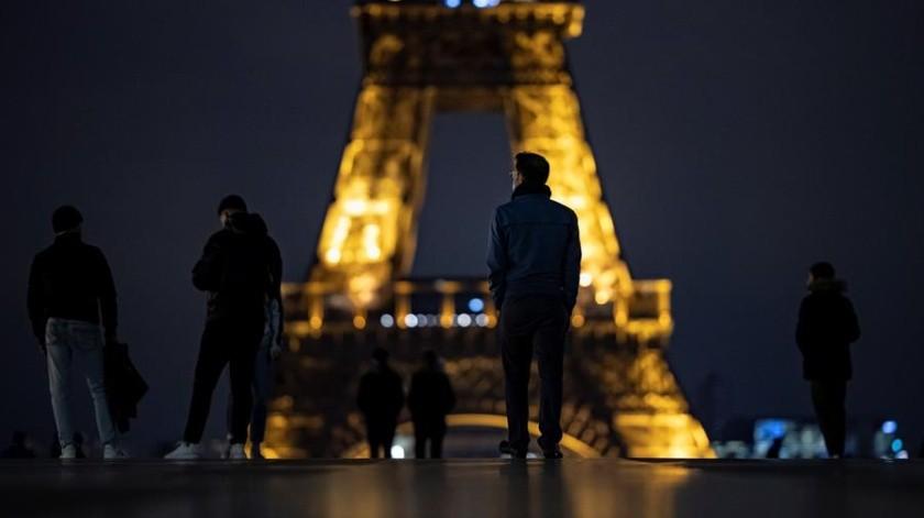 Francia en toque de queda: La noche previa al reconfinamiento por rebrote de Covid-19(EFE)