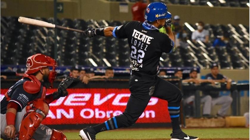 Roberto López ayudó a la victoria de los Yaquis.(Cortesía)