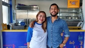 Los dueños, Abril y Nicolás transmiten a sus empleados los valores que buscan en su negocio.