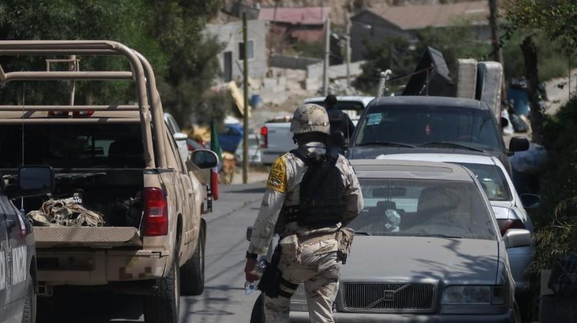 El operativo es coordinado por un militar.(Banco Digital)