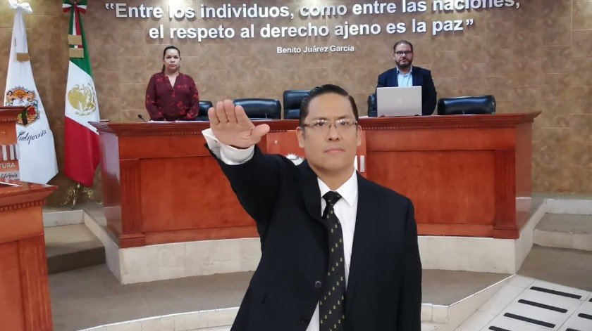 Nelson Alonso Kim Salas es nombrado magistrado numerario por Congreso de BC(Cortesía)