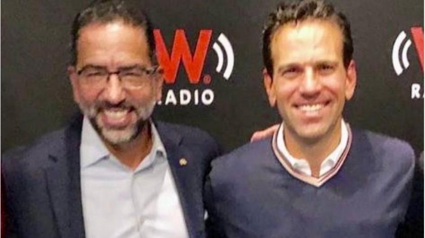 Javier Lozano felicitó a Carlos Loret de Molapor sus 44 años, las redes le advierten sobre su posible futuro.(Twitter/ @JLozanoA)