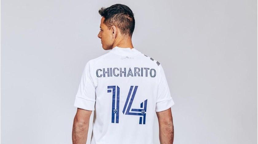"""No quieren al """"Chicharito"""" en el LA Galaxy, se rumora mala relación son sus compañeros(Instagram @ch14_)"""