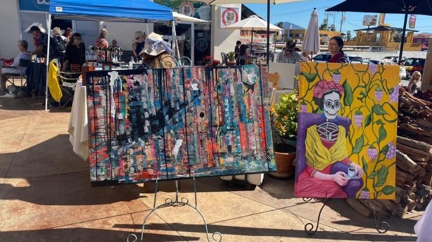 Desde las 16:00 horas, se contarán con distintos expositores de arte local en el puerto sonorense.(Cortesía)