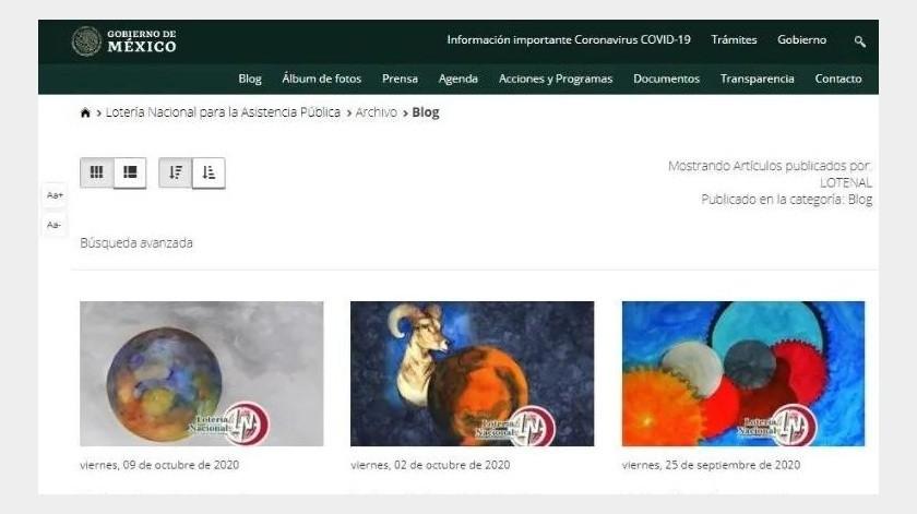 Mercurio retrógrado: Gobierno de México borra comunicados sobre Zodiaco(Captura de pantalla)
