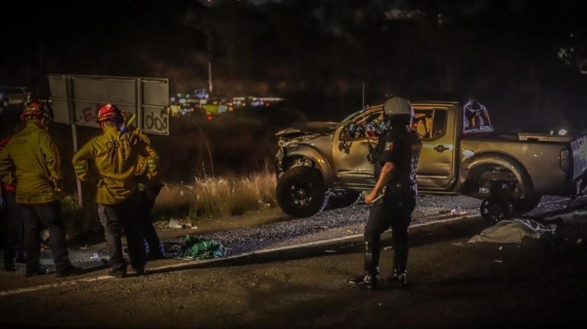 Muere mujer tras volcadura en acceso a Playas(Gustavo Suárez)