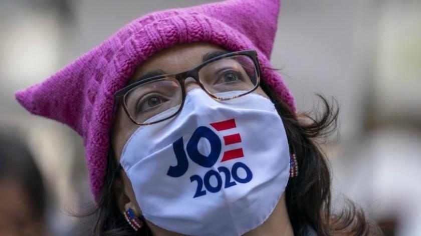 EU: Miles de mujeres marchan en decenas de ciudades y piden votar contra Trump(AP)