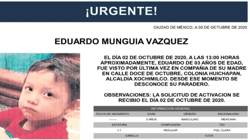 Tras 15 días de su desaparición, familiares cercanos comentan que no han tenido información sobre el paradero de la madre ni del niño.