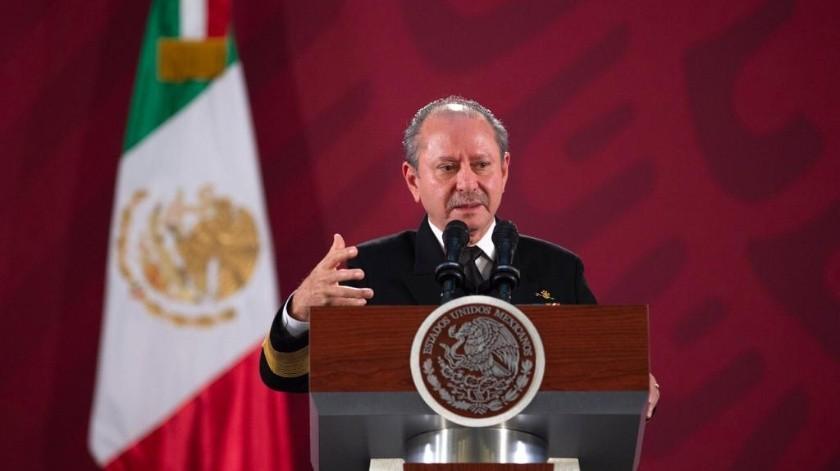 José Rafael Ojeda, secretario de Marina, positivo a Covid-19