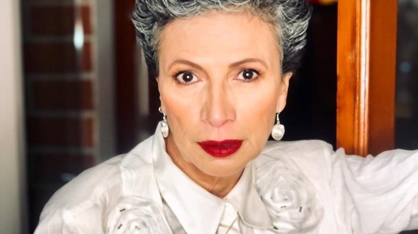 Patricia Reyes Spíndola ha tenido participación en 43 proyectos de televisión, ha realizado 58 películas y ha sido directora de escena en cuatro telenovelas, todas en Televisa, donde formó su carrera.(Instagram/patriciareyesspindola)