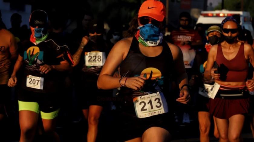 1era carrera desde la pausa de las actividades deportivas por el Covid-19(Daniel Reséndiz)
