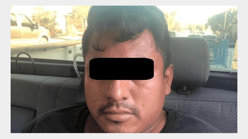 Aseguran en San Felipe a un hombre con droga(Cortesía)