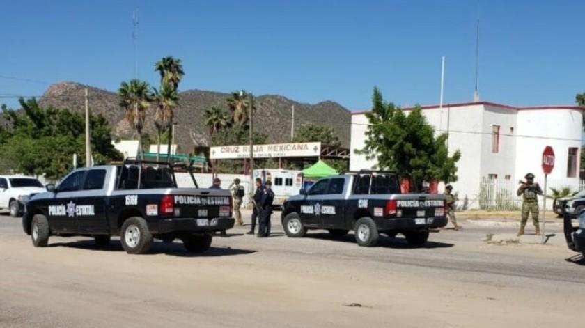 Los elementos de la Semar viajaban a bordo de un carro particular cuando fueron atacados a balazos(GH)
