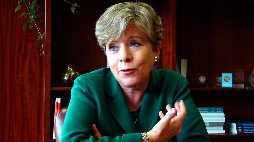 Países de AL no pueden hablar de austeridad ante crisis económica: Alicia Bárcena, titular de Cepal(Archivo GH)