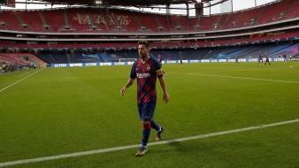 Lionel Messi termina su contrato después de la actual temporada.