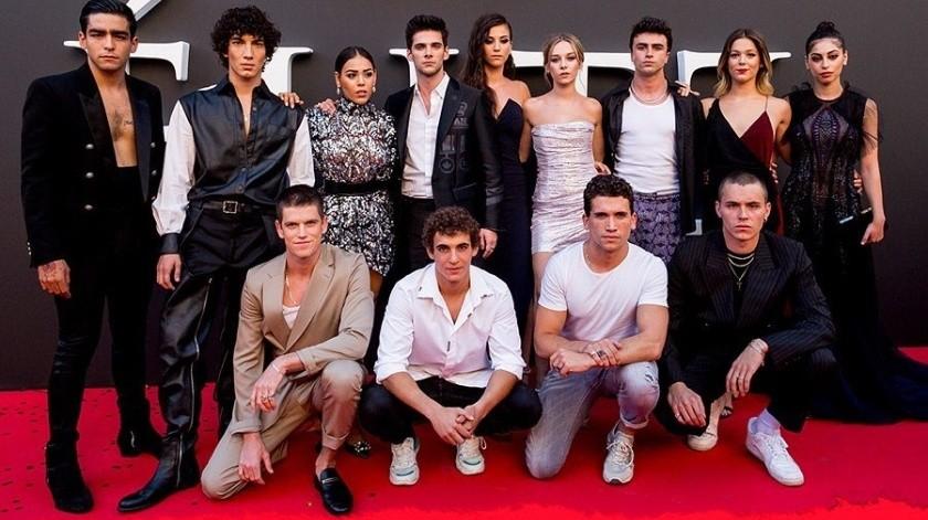 """Danna Paola reveló que no quiso grabar la cuarta temporada de """"Élite"""" por dedicarse a su carrera musical.(Instagram/elitenetflix)"""
