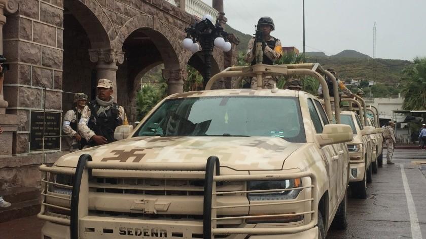 El colectivo también pidió poner una pausa a la militarización(Archivo GH)
